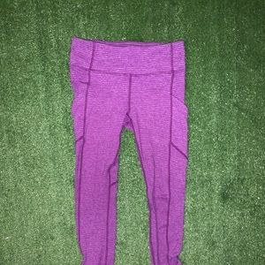 lululemon athletica Pants - lululemon athletica pink leggings